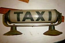 Vintage Taxi Roof Light, Nite - Lite Sign Co. Williamsport, Pa. Pat. No. 129932