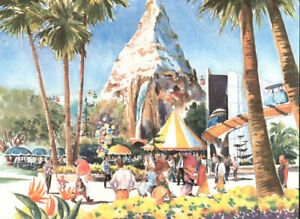 Phil Austin - Disneyland Anaheim California - 13 x 19 Print 1969-SUPER