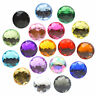 16mm LARGE ROUND Resin Crystal Rhinestone Cabochon Embellishment Gem Decoden