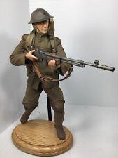 """1/6 DRAGON WW1 USMC MARINE BAR GUNNER """"BATTLE OF BELLEAU WOOD"""" SIDESHOW DID BBI"""