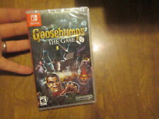 GOOSEBUMPS THE GAME NINTENDO SWITCH BRAND NEW FACTORY SEALED