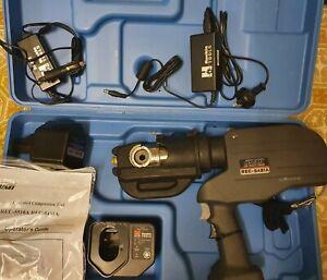 IZUMI REC-5431A 106kN Cordless Electrical Hydraulic Crimper Made Japan