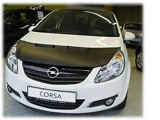 Chevrolet Vauxhall Opel Corsa D 2006-2014 CUSTOM CAR HOOD BONNET BRA DE CAPOT