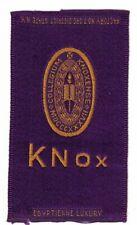 1910s S25 tobacco / cigarette / college silk Knox College