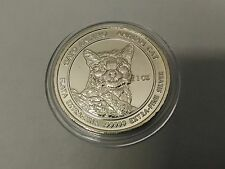 RSC Royal Silver Company Andean Cat 2011 1 oz .99999 Silver Coin Round