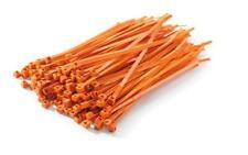 Genuine KTM 190mm Orange Cable Ties 100 pack U6951130