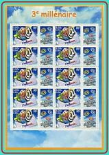 FRANCE 2000 3rd MILLENNIUM START M/S   MNH ** NEW YEAR (NO, YOU DON'T HAVE IT!)