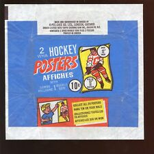 1973/1974 O-Pee-Chee WHA Hockey Posters 10 Cent Wax Wrapper