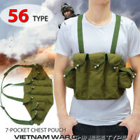 Vietnam War  US Army Type 56 * Chest Rig Ammo Bandolier Pouch Tactical Bag New