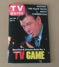 Vintage Collectible Magazine Tv Guide Question & Answer Book No. 1 1984