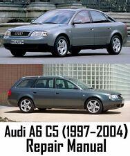 Audi A6 C5 (1997 - 2004) Repair Manual
