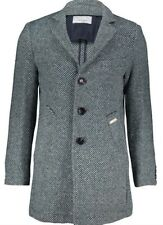Trussardi Collection men's striped fitted coat size L(42) - Made in Italy