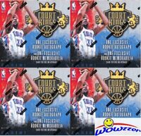 (4)2014/15 Panini Court Kings Basketball ROOKIE EDITION Sealed Box-8 RC AUTO/MEM