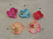 Fabric Flower For Wedding bridal Crown & Craft DIY 5colour choices 6cm each rose