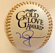 Cardinals Athletics Mark McGwire Signed Gold Glove Baseball Beckett Witnessed