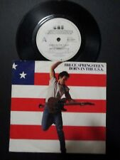 BRUCE SPRINGSTEEN - BORN IN THE U.S.A. - RARE 1984 AUSSIE PROMO 7'' SINGLE