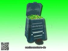 Komposter Kompostbehälter Gartenkomposter Schnellkomposter 340l Schwarz