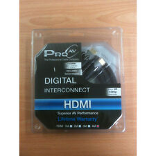 PRO AV DIGITAL INTERCONNECT HDMI CABLE 4 METER INCLUDES SWIVEL ADAPTER