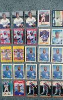 Gary Thurman Baseball Card Mixed Lot approx 68 cards