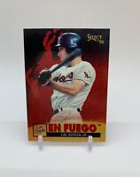 1996 Select En Fuego Cal Ripken Jr. Insert Card #3