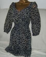 Zara 3/4 Sleeve Tunic Floral Dresses for Women