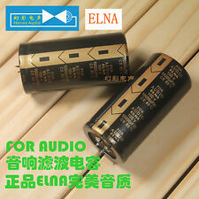 2PCS ELNA FOR AUDIO Electrolytic Capacitor 35x70mm 100V 10000UF CE 85℃ #E071 YX