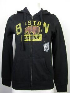 Boston Bruins G-III Women's Full Zip Hoodie NHL Black S XL