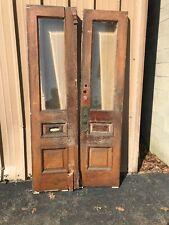Cm 227 Antique Oak Wood Grain Double Door Entry 41.5 x 83.5