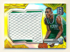 2014-15 PANINI SPECTRA JAMES YOUNG RC GOLD PRIZM REFRACTOR PATCH CELTICS #4/10