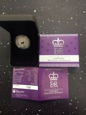2015 H.M. QUEEN ELIZABETH II – LONGEST REIGNING MONARCH 1oz Silver Proof