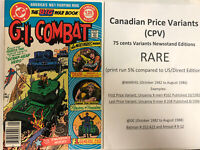 GI Combat (1983) #  249 (VF) Canadian Price Variant (CPV) !