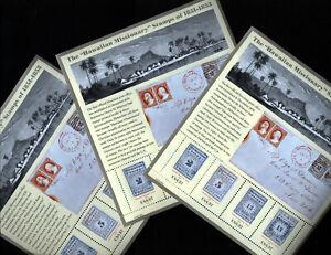 SET OF 3 Hawaiian Missionaries Stamps Sheet MNH USA Scott #3694 SEE SCAN