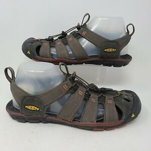 KEEN Clearwater CNX Mens Hiking Sandals Outdoor Sport Shoes Brown Size 9.5