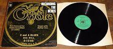 ORIOLE RECORDING THE BLUES UK VINYL LP BLIND LEMON JEFFERSON JOHNSON BIG HILL