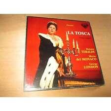 PUCCINI la tosca version integrale RENATA TEBALDI & - DECCA BOX 2 Lp SXL 2180/81