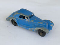 Vintage Tootsietoy Blue 1939 Mercedes Made in U.S.A... L246