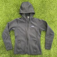 Patagonia Women's Tech Fleece Hoody Full Zip Black Small 25940 Fleece FREE SHIP