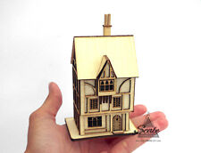 Dolls House Miniature 144th Scale Laser Cut Kit - The Smugglers Rest Tudor Inn