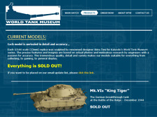 World Tank Museum Panzertales: MK.VI B King Tiger 1/144 (12mm scale)