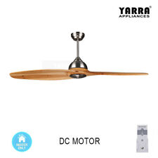 138CM(55'') DC Motor Ceiling Fan 6 Speeds 2 Timer Blades W/ Remote Control