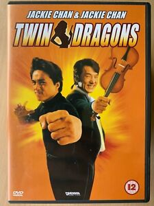 Twin Dragons DVD 1992 Hong Kong Martial Arts Film with Jackie Chan Twins!