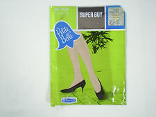 Stockings Size 8 1/2 Beige Woolworth Seamless Smokestone New in Package