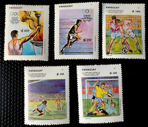 Paraguay Stamps Sc 2476-2480 Mint Never Hinged