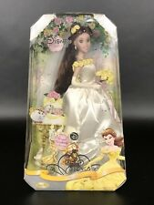 NIB Disney Princess Belle Royal Weddng-- Brass Key Porcelain Doll.