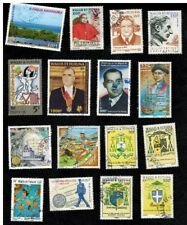 Collection POSTALLY USED stamps of Wallis and Futuna Islands (South Pacific)