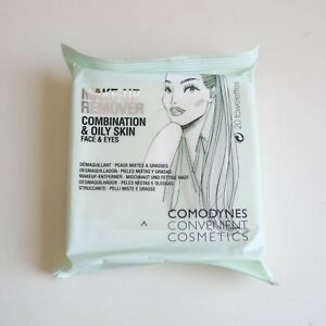 Comodynes Makeup Remover Wipes with Burdock (Oily/Combination Skin) (20 wipes)