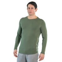 Saucony Mens Breakthru LS Running Top Grey Sports Breathable