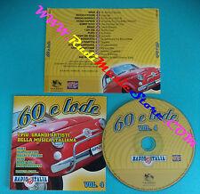CD 60 E LODE VOL 4 compilation 2007 MIA MARTINI MINA IVA ZANICCHI (C35*) no mc