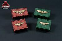 3D Printed Ammo Crates for 28mm Tabletop War Games - Scfi-fi Scatter Terrain