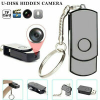 Mini USB Flash Drive Pinhole Hidden Camera U-Disk HD DVR Video Recorder